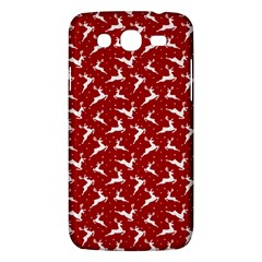 Red Reindeers Samsung Galaxy Mega 5 8 I9152 Hardshell Case  by patternstudio