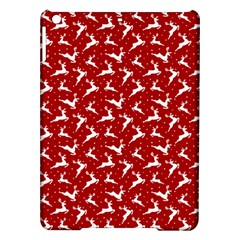 Red Reindeers Ipad Air Hardshell Cases by patternstudio