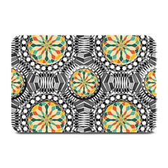 Beveled Geometric Pattern Plate Mats by linceazul