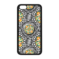 Beveled Geometric Pattern Apple Iphone 5c Seamless Case (black) by linceazul