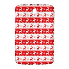 Knitted Red White Reindeers Samsung Galaxy Note 8 0 N5100 Hardshell Case  by patternstudio