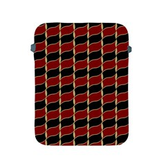 Leaves Red Black Apple Ipad 2/3/4 Protective Soft Cases