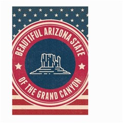 Retro Arizona Grand Canyon State Large Garden Flag (two Sides) by allthingseveryday