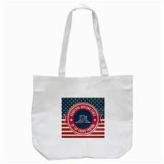 Retro Arizona Grand Canyon State Tote Bag (white) by allthingseveryday