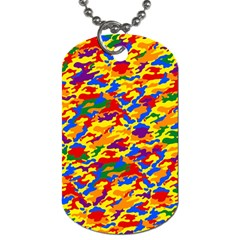Homouflage Gay Stealth Camouflage Dog Tag (one Side) by PodArtist