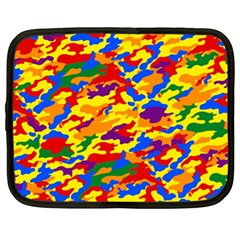 Homouflage Gay Stealth Camouflage Netbook Case (xl)  by PodArtist