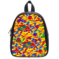 Homouflage Gay Stealth Camouflage School Bag (small) by PodArtist
