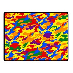 Homouflage Gay Stealth Camouflage Fleece Blanket (small) by PodArtist