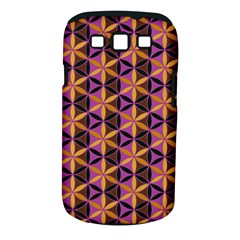 Flower Of Life Purple Gold Samsung Galaxy S Iii Classic Hardshell Case (pc+silicone) by Cveti