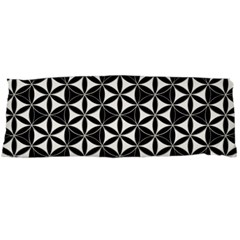 Flower Of Life Pattern Black White Body Pillow Case Dakimakura (two Sides) by Cveti