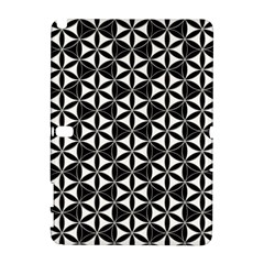 Flower Of Life Pattern Black White Galaxy Note 1 by Cveti