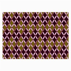 Rhomboids Pattern  Large Glasses Cloth (2 Side) by Cveti