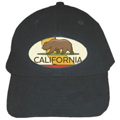 California Bear Black Cap by allthingseveryday