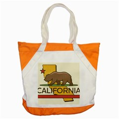 California Bear Accent Tote Bag by allthingseveryday
