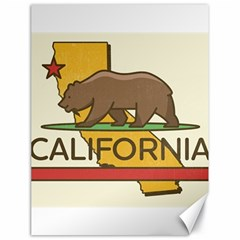 California Bear Canvas 18  X 24   by allthingseveryday