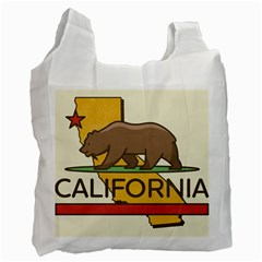 California Bear Recycle Bag (two Side)  by allthingseveryday