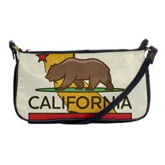 California Bear Shoulder Clutch Bags by allthingseveryday