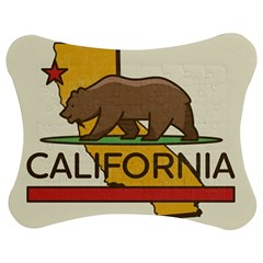 California Bear Jigsaw Puzzle Photo Stand (bow) by allthingseveryday