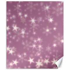 Blurry Stars Lilac Canvas 20  X 24   by MoreColorsinLife