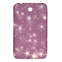 Blurry Stars Lilac Samsung Galaxy Tab 3 (7 ) P3200 Hardshell Case  by MoreColorsinLife