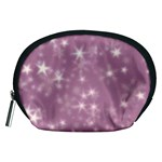 Blurry Stars Lilac Accessory Pouches (Medium)  Front