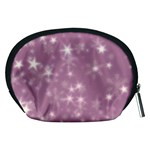 Blurry Stars Lilac Accessory Pouches (Medium)  Back