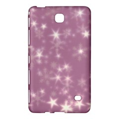 Blurry Stars Lilac Samsung Galaxy Tab 4 (7 ) Hardshell Case  by MoreColorsinLife
