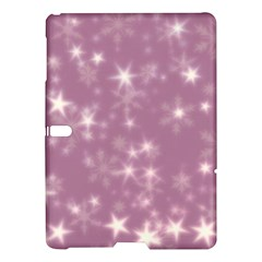 Blurry Stars Lilac Samsung Galaxy Tab S (10 5 ) Hardshell Case  by MoreColorsinLife