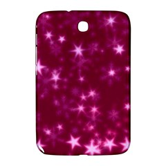 Blurry Stars Pink Samsung Galaxy Note 8 0 N5100 Hardshell Case  by MoreColorsinLife