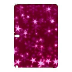 Blurry Stars Pink Samsung Galaxy Tab Pro 10 1 Hardshell Case by MoreColorsinLife