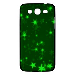 Blurry Stars Green Samsung Galaxy Mega 5 8 I9152 Hardshell Case  by MoreColorsinLife