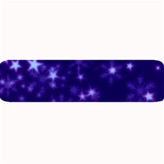 Blurry Stars Blue Large Bar Mats by MoreColorsinLife