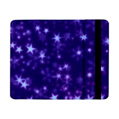 Blurry Stars Blue Samsung Galaxy Tab Pro 8 4  Flip Case by MoreColorsinLife