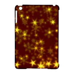 Blurry Stars Golden Apple Ipad Mini Hardshell Case (compatible With Smart Cover) by MoreColorsinLife
