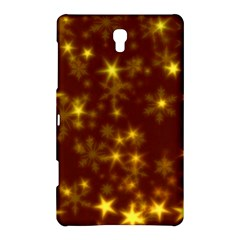Blurry Stars Golden Samsung Galaxy Tab S (8 4 ) Hardshell Case  by MoreColorsinLife