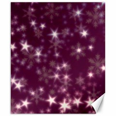 Blurry Stars Plum Canvas 20  X 24   by MoreColorsinLife