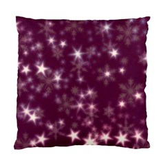 Blurry Stars Plum Standard Cushion Case (two Sides) by MoreColorsinLife