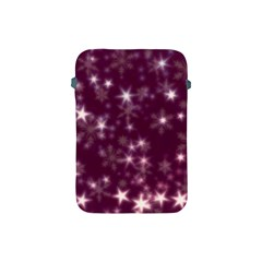 Blurry Stars Plum Apple Ipad Mini Protective Soft Cases by MoreColorsinLife
