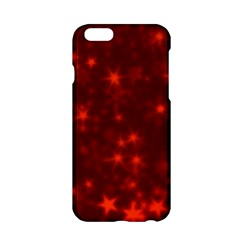 Blurry Stars Red Apple Iphone 6/6s Hardshell Case by MoreColorsinLife