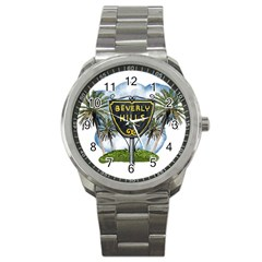 Beverly Hills Sport Metal Watch by allthingseveryday