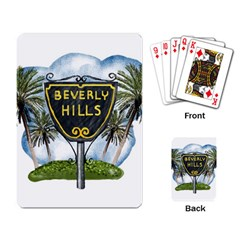 Beverly Hills Playing Card by allthingseveryday