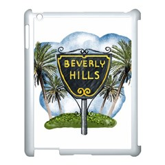 Beverly Hills Apple Ipad 3/4 Case (white) by allthingseveryday