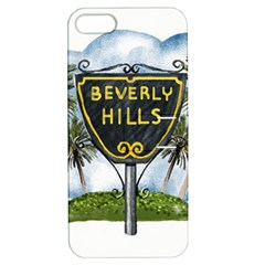 Beverly Hills Apple Iphone 5 Hardshell Case With Stand by allthingseveryday