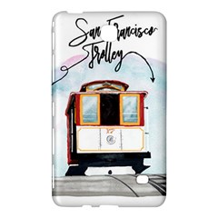 San Francisco Trolley California Bear Samsung Galaxy Tab 4 (8 ) Hardshell Case  by allthingseveryday