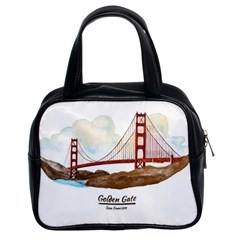 San Francisco Golden Gate Bridge Classic Handbags (2 Sides) by allthingseveryday