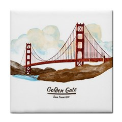 San Francisco Golden Gate Bridge Face Towel by allthingseveryday