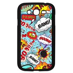Comic Pattern Samsung Galaxy Grand Duos I9082 Case (black) by allthingseveryday