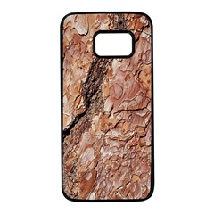 Tree Bark C Samsung Galaxy S7 Black Seamless Case by MoreColorsinLife
