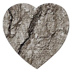 Tree Bark A Jigsaw Puzzle (heart) by MoreColorsinLife
