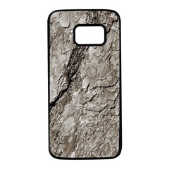 Tree Bark A Samsung Galaxy S7 Black Seamless Case by MoreColorsinLife